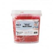 Vehicle Wash & Sheet, Pink, 50 Pak-Its/tub, 4 Tubs/carton