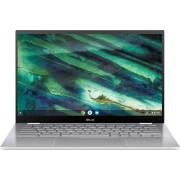 "ASUS Chromebook Flip C436FA-E10248 Wit 35,6 cm (14"") 1920 x 1080 Pixels Touchscreen Intel® 10de generatie Core™ i7 8 GB LPDDR3-SDRAM 256 GB SSD Wi-Fi 6 (802.11ax) Chrome OS"