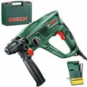 BOSCH PBH 2100 RE Ciocan rotopercutor SDS-plus 550 W, 1.7 J + 6 Burghie 06033A9303
