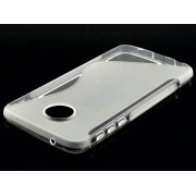 Wave Case for Motorola Moto Z Play - Motorola Soft Cover (Frosted Clear/Clear)