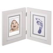 Fujifilm instax mini Photo Frame Wooden Frame + Foot-/Handprint