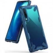 Husa Huawei P30 - Ringke Fusion-X Albastru