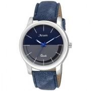 Arum Trendy Grey In Blue Watch -ASMW-010