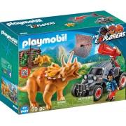 Automobil si Triceratops