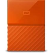 WD My Passport 1 TB Wired External Hard Disk Drive(Orange)