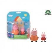 Giochi preziosi peppa pig + mamma pig