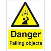 Unbranded Warning Sign Falling Objects Plastic 30 x 20 cm