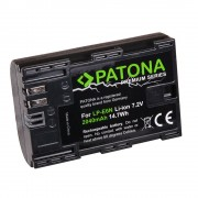 Patona Premium Acumulator Replace Li-Ion pentru Canon LP-E6N 2040mAh 7.2V