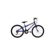 Bicicleta New Wave 21 V Aro 24 Azul - Mormaii