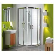 GKPG90222003 - Kolo - Geberit Kolo GEO 6 štvrťkruhový sprchovací kút 90 cm sklo Číre A+B, GKPG90222003