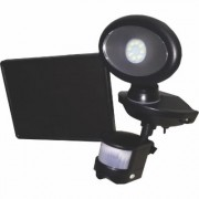 Maxsa Innovations Motion-Activated Solar Security Video Camera with Spotlight - Black, Model 44643-CAM-BK