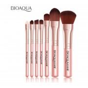 7pcs/Set Maquillaje Facial Mujer Belleza Pinceles Pincel Colorete Fundación De Sombra De Ojos