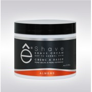 eShave Shaving Cream Almond 4oz 714001