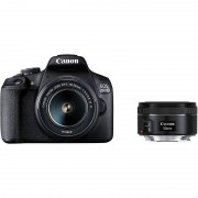 Canon 2000D + Objectiva 18-55 IS II + Objectiva 50 F1.8 STM