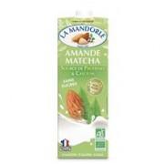 Lapte de Migdale cu Ceai Matcha Bio fara Zahar La Mandorle 1L