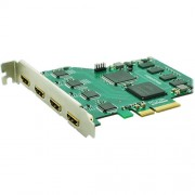 Magewell XI400DE-HDMI PCI Express Video Capture Card. Simultaneous 4 x HDMI Capture 4 Full Size HDMI Inputs
