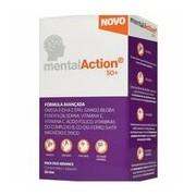 Tónico cerebral adultos 50+ 30cp+30cap - Mental Action