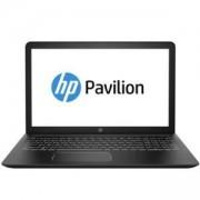 Лаптоп HP Pavilion Power 15-cb009nu Черен/Бял, Core i7-7700HQ Quad(2.8Ghz, up to 3.8Ghz/6MB), 15.6 инча, FHD UWVA AG IPS + WebCam, 2LF01EA