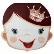 Cutie cu Zana Maseluta pentru pastrat dinti de lapte ombilic si suvita par pentru copii din lemn pictata manual multicolor