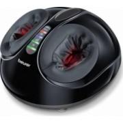 Aparat de masaj pentru picioare FM90 48 wati 3 programe de masaj presetate Negru