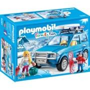 PlayMobil 4Ani+ SCHIORI SI MASINA DE TEREN