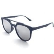 MR CART Oval Sunglasses(Silver)