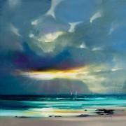 Tablou canvas 'West Coast Blues II, 85 x 85cm