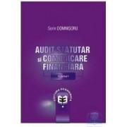 Audit statutar si comunicare financiara vol. 1 - Sorin Domnisoru