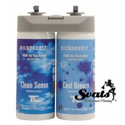 RUBBERMAID / MicroBurst Duet Refill (4 x / 2 x 121 ml) Clean Sense & Cool Breeze