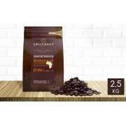 Callebaut Chocolat noir Madagascar 67,4% pistoles 2,5 kg