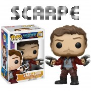 Funko Pop Star-lord Guardians Of The Galaxy