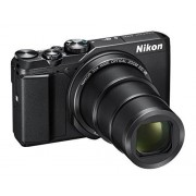 Nikon COOLPIX a900 digitale compactcamera, 20,3 Megapixel, Zoom 35 x, VR, films 4 K UHD, Bluetooth, WLAN, Zilver [nital Card: 4 jaar garantie], zwart