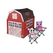 "Pacific Play Tents Barnyard House Play Tent/2 Chairs, 48"" x 38"" x 48"""