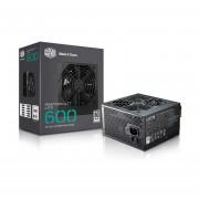 Fuente De Poder Cooler Master MasterWatt Lite 600W 80+ MPX-6001-ACAAW