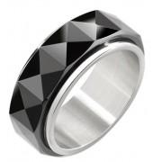 Morellato Inel de oțel pentru bărbați ceramice SAEV10 63 mm
