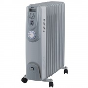 Heller HOIL11T 11 Fin Oil Column 2400w Electric Heater with Timer