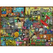 Puzzle Ravensburger - Colin Thompson: Colin Thompson - The Noisemaker Shelf, 1500 piese (16361)