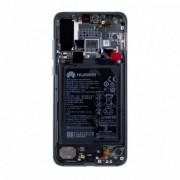 Huawei P20 Pro Dual Sim (CLT-L29) LCD Display Module, Blauw, Incl. Ba
