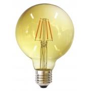 LED ŽARULJA G125 E27 6W 2700K 220 240V AMBER