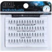 Ardell Individuals pestañas postizas individuales sin nudo Long Black