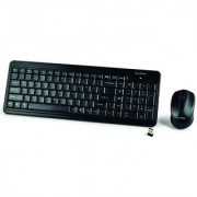 CLiPtec RZK337BK Soho Air-Wireless Keyboard Combo Set-Black