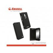 Husă telefon plastic Krusell FlipCase Malmö Nokia Lumia 925 negru (75656)