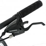 Bicicleta MTB-HT 26 Carpat FSD C2681B cadru aluminiu negrurosu