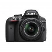 Cámara Réflex Digital Nikon D3300 24.2MP Con Lente 18-55mm-Negro