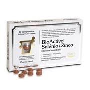 Selénio+zinco 60comp - BioActivo