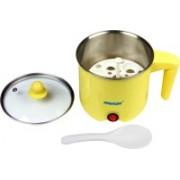 EUROLINE Multifunction Cooker ( Yellow) Food Steamer, Egg Boiler, Slow Cooker, Travel Cooker, Egg Cooker(1 L, Yellow)