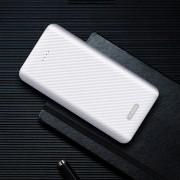 YK 021 10000mAh Power Bank Dual USB Output for iPhone Samsung Huawei, etc - White