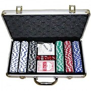 CASINO SIZE POKER CHIP GAME SET 300 PCS (FREE SHIPPING)