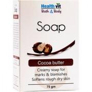 Healthvit Bath Body Cocoa Butter Soap 75g