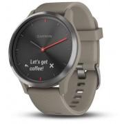 Ceas activity outdoor tracker Garmin vívomove™ HR, Bluetooth, Rezistent la apa (Gri)